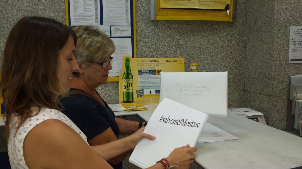 La Comissió Montxic reuneix 2.261 firmes contra el tancament de l'escola bressol