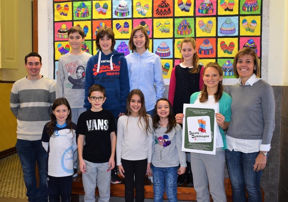 Les Escolàpies reben la Certificació d'Escola Multilingüe