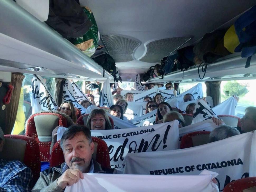 Centenars d'anoiencs a punt per arribar a Brussel·les