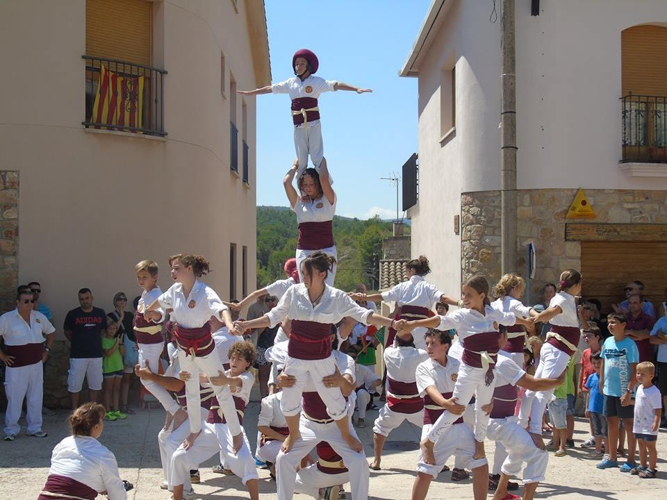 El Falcons de Vilanova d'Espoia, de Festa Major