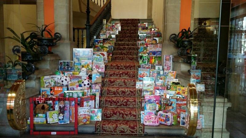 Creu Roja va recollir més de 300 joguines... i 300 somriures