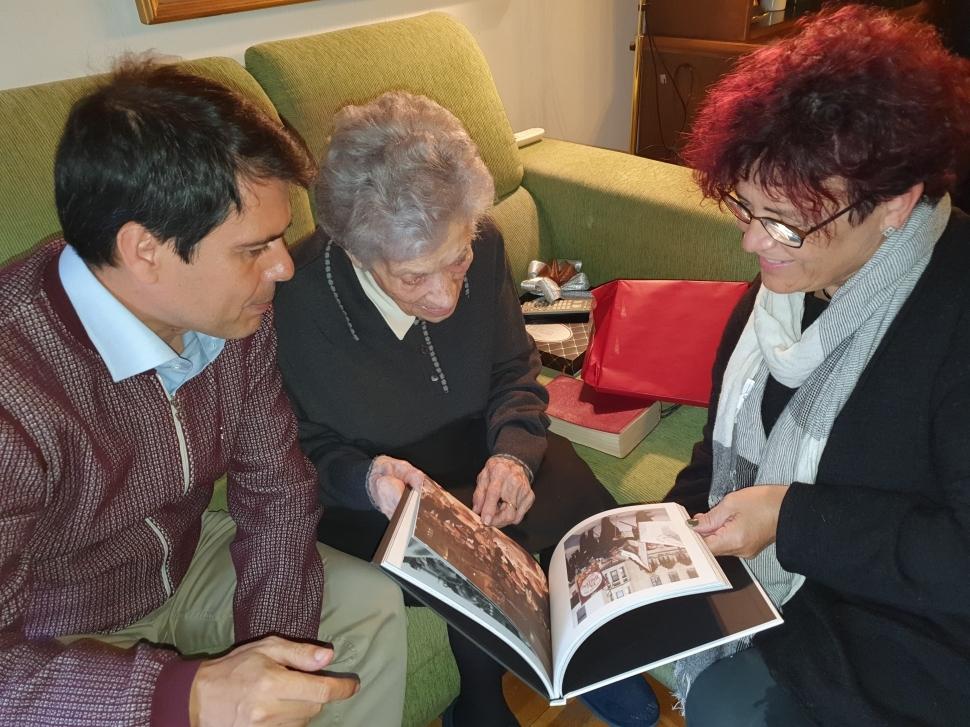 Maria Romeu entra al club dels centenaris igualadins