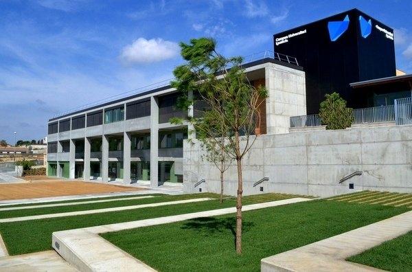 El Campus Universitari d'Igualada, al Pla de la Massa