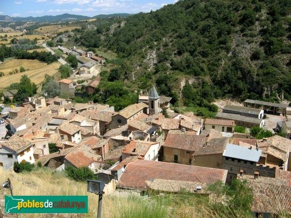 Castellfollit de Riubregós, dels primers municipis anoiencs a fer l'apagada - foto: PdC