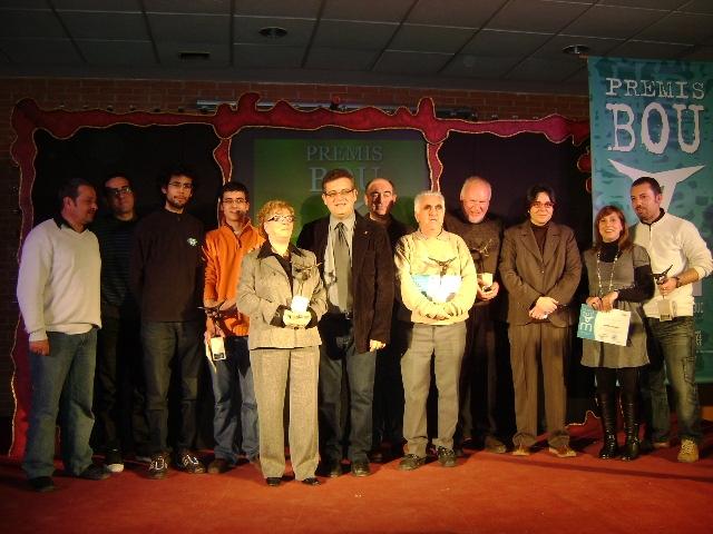 Guanyadors dels Premis Bou