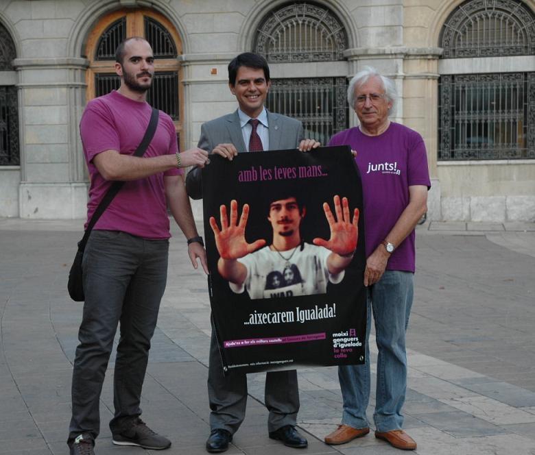 Joan Vilaseca, Marc Castella i Jaume Planas