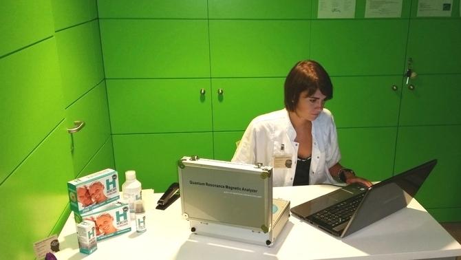 Tijana Postic, cap d'infermeres de l'Hospital Universitari FOTO: CCMA