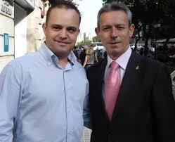 Hernando i Anglada, en la campanya electoral de 2011