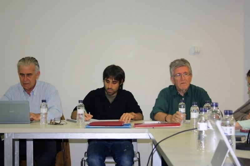 Al centre el regidor d'Urbanisme, Sergi Pérez