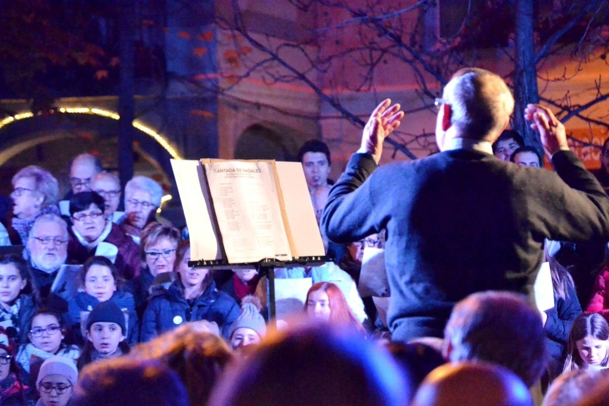 La Cantada del 2015, a la Plaça de l'Ajuntament