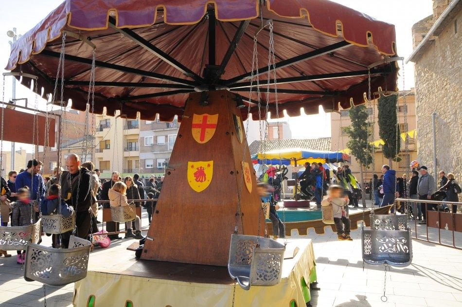 L'estètica medieval toca a tots els elements d'aquesta festa