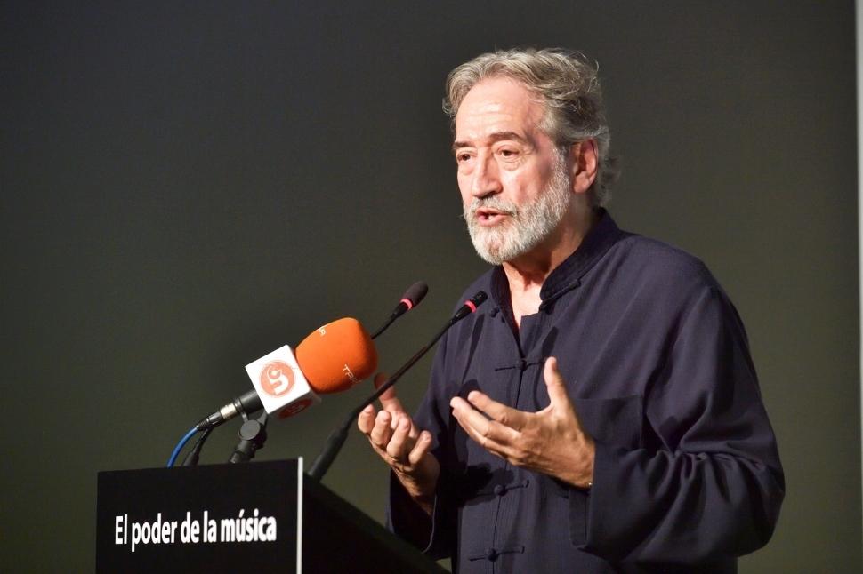 Savall, en la inauguració del curs a Igualada
