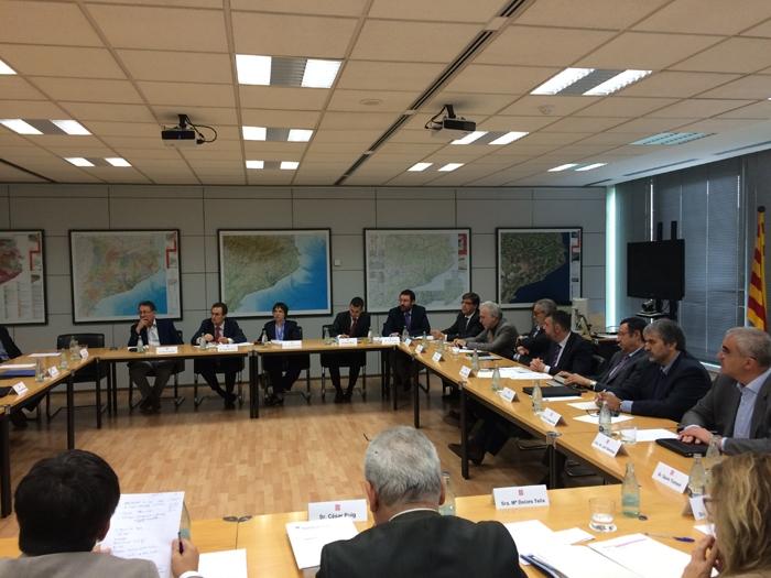 La reunió dels alcaldes amb Santi Vila, aquest dijous