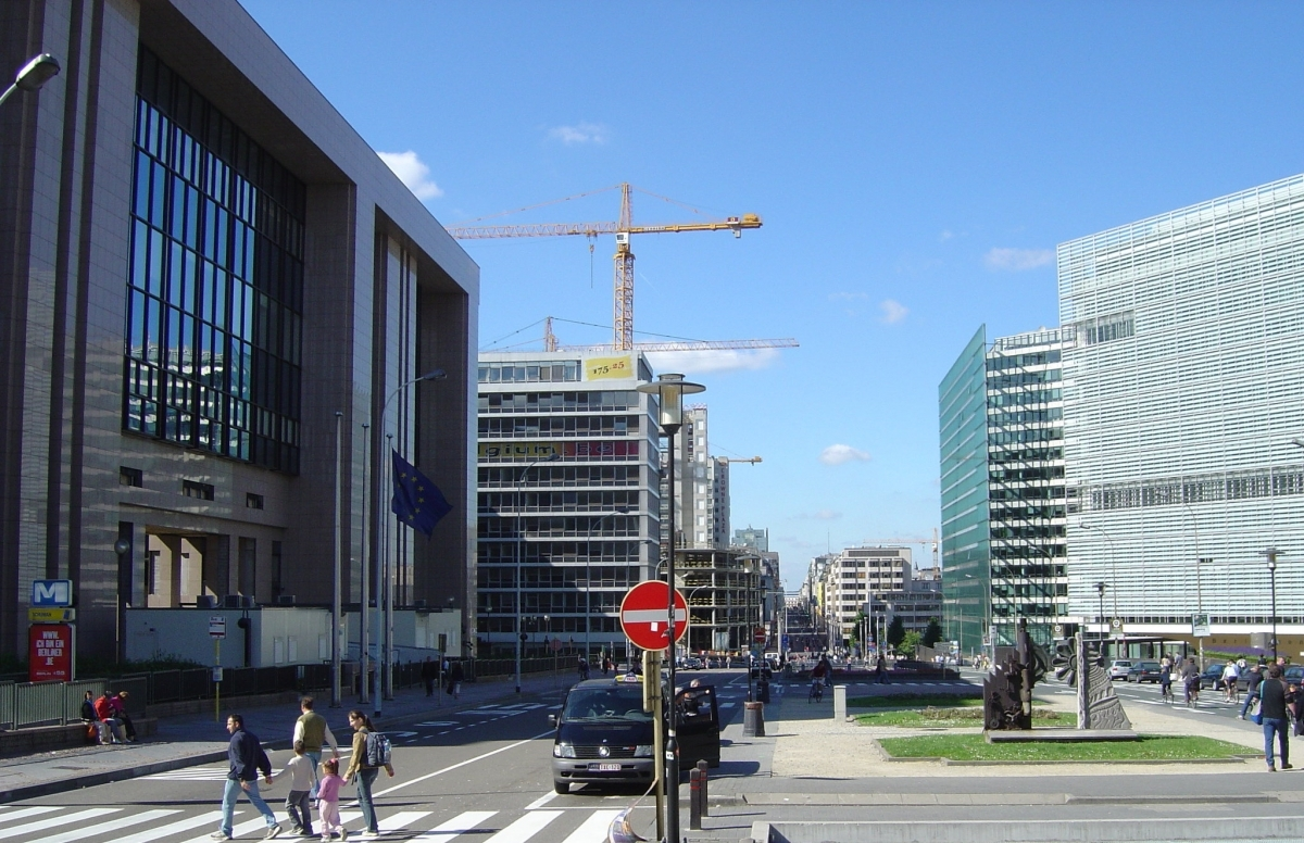 La marxa del 7 de desembre té com a meta arribar a les institucions europees, com la Comissió