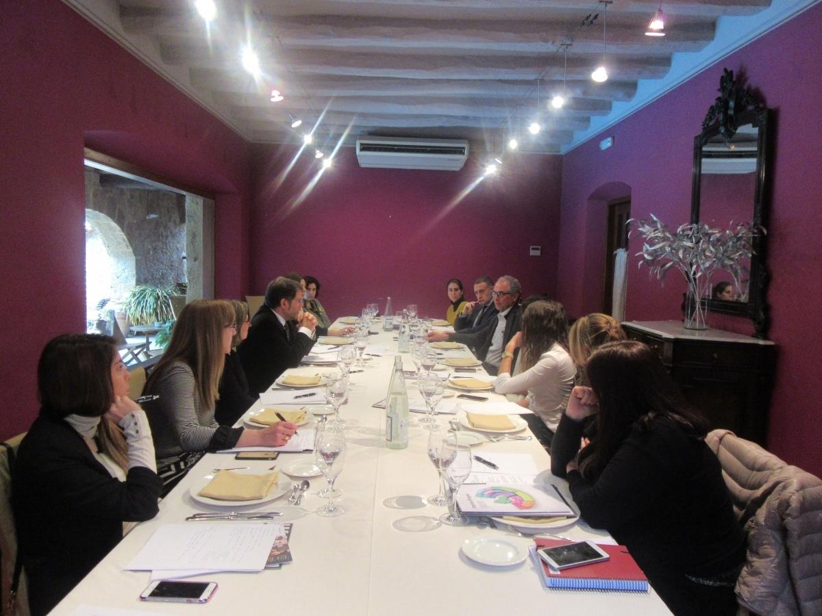 La trobada entre la UEA i els directors de Recursos Humans