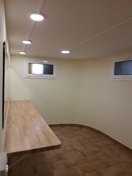Els espais dels vestidors, després de les obres