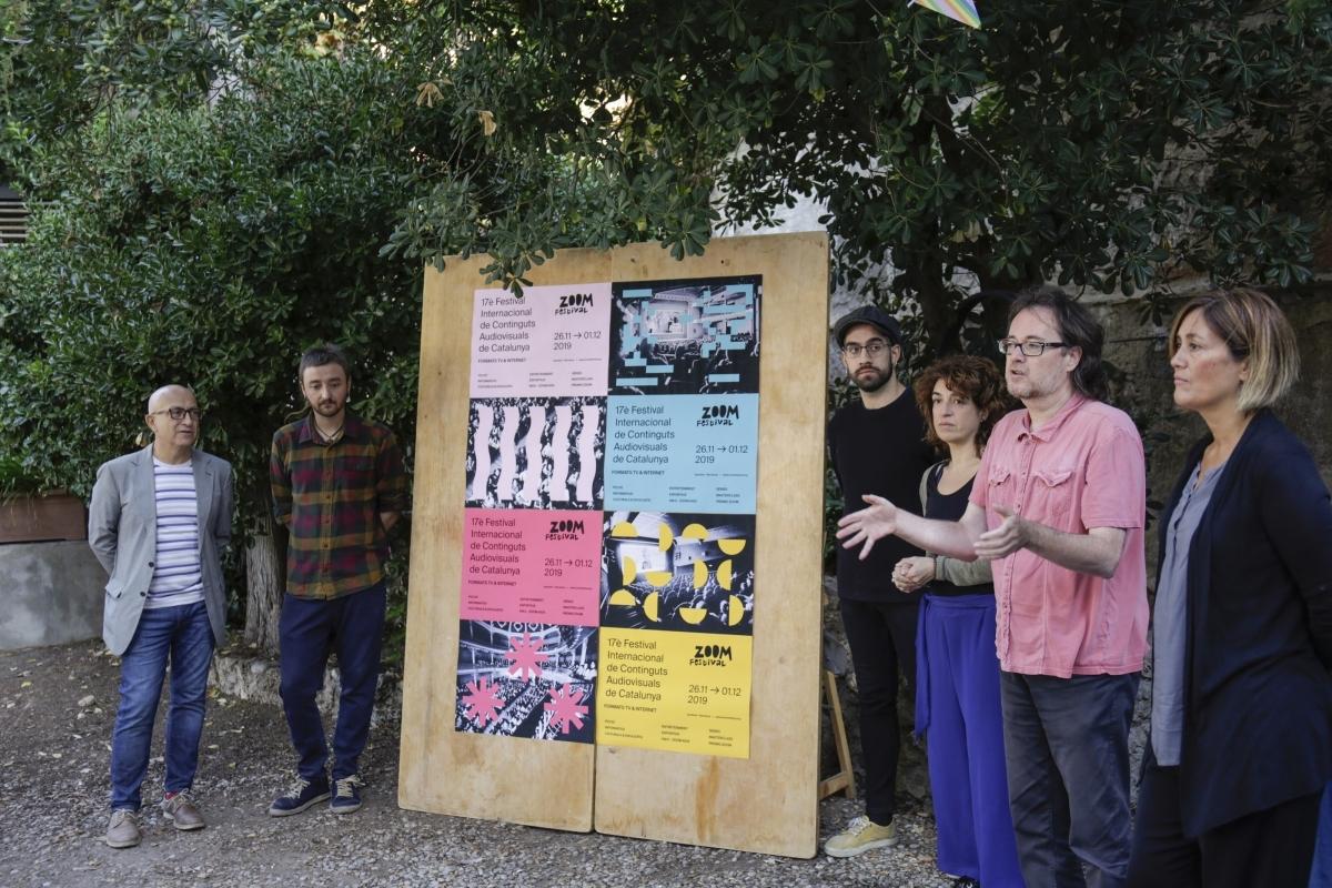 La presentació del festival i el cartell, al Jardí de l'Ateneu