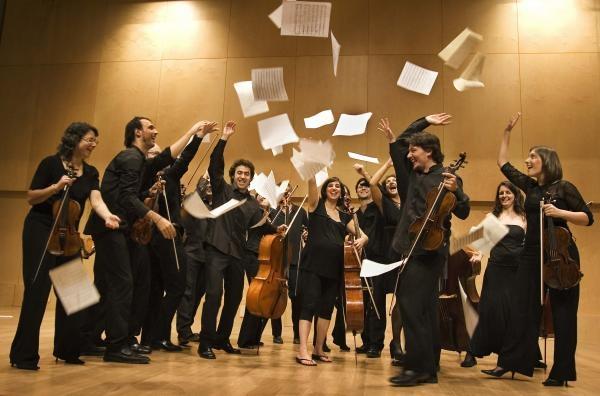 L'orquestra terrassenca, en una imatge d'arxiu