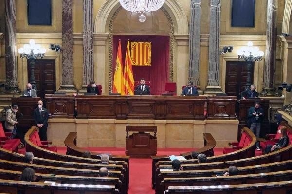 La Diputació Permanent, en una sessió d'aquesta setmana FOTO: ACN