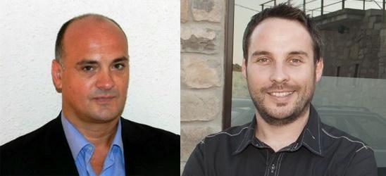 Joan Serra i Jordi Servitje