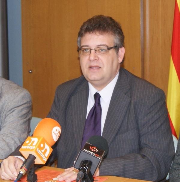 L'alcalde montbuienc, en la presentació d'aquest dilluns