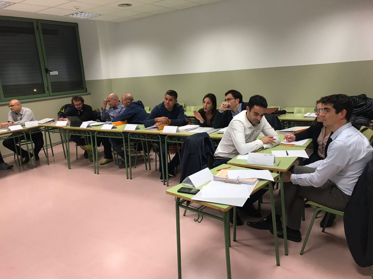 La sessió inicial del curs de Manager Development Programme