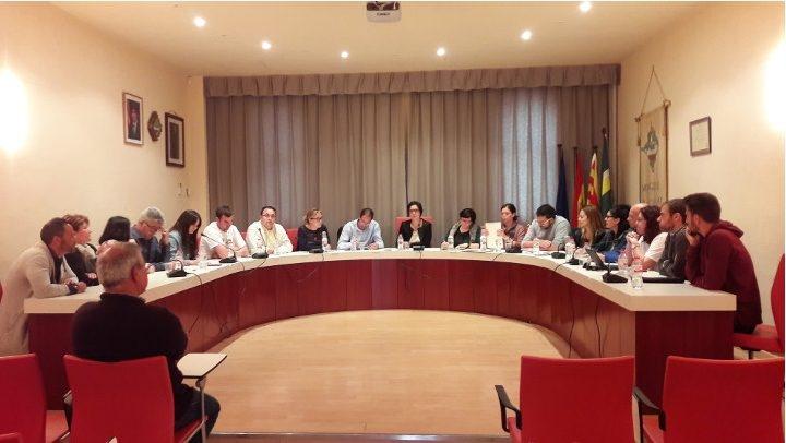 Un dels plens del 2017 a Vilanova del Camí