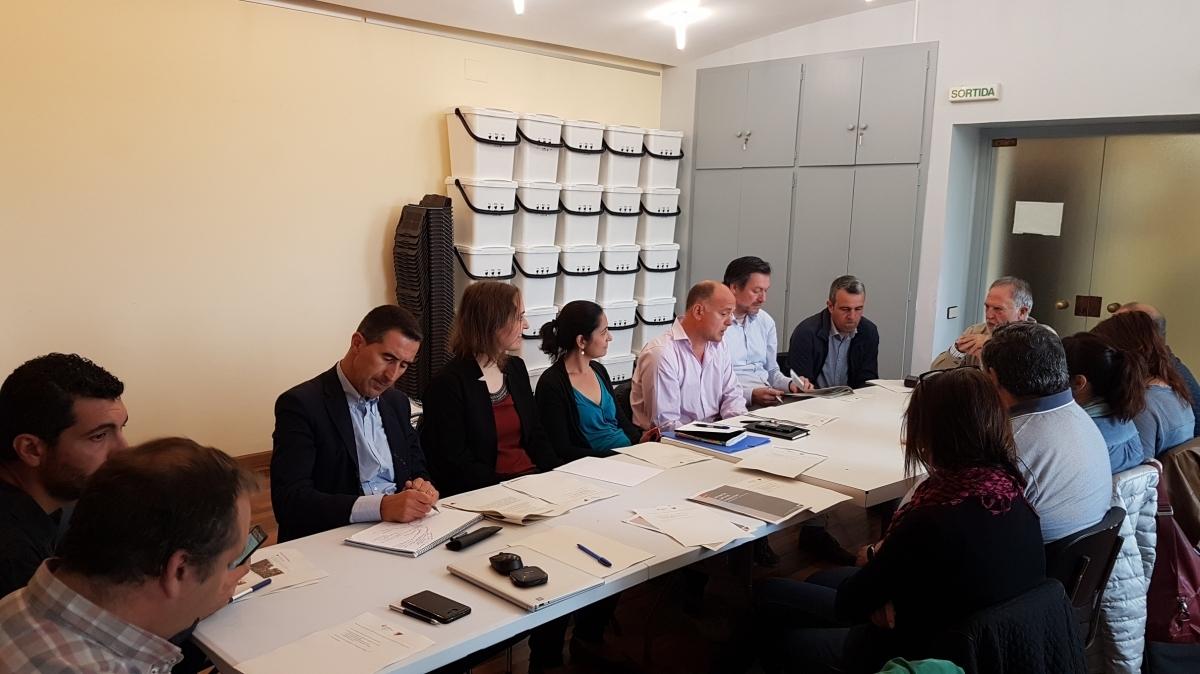La reunió entre els alcaldes i representants de la MICOD