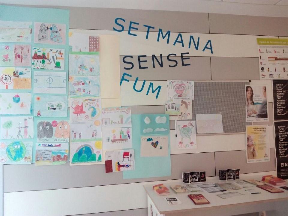 Exposició de dibuixos al CAP de Vilanova
