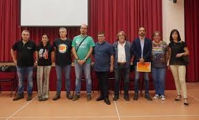 Els nou regidors del consistori de Vallbona d'Anoia
