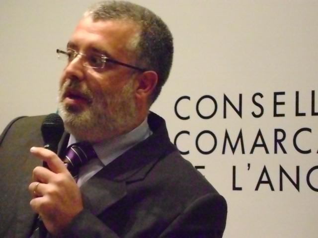 Xavier Boquete, president del Consell Comarcal