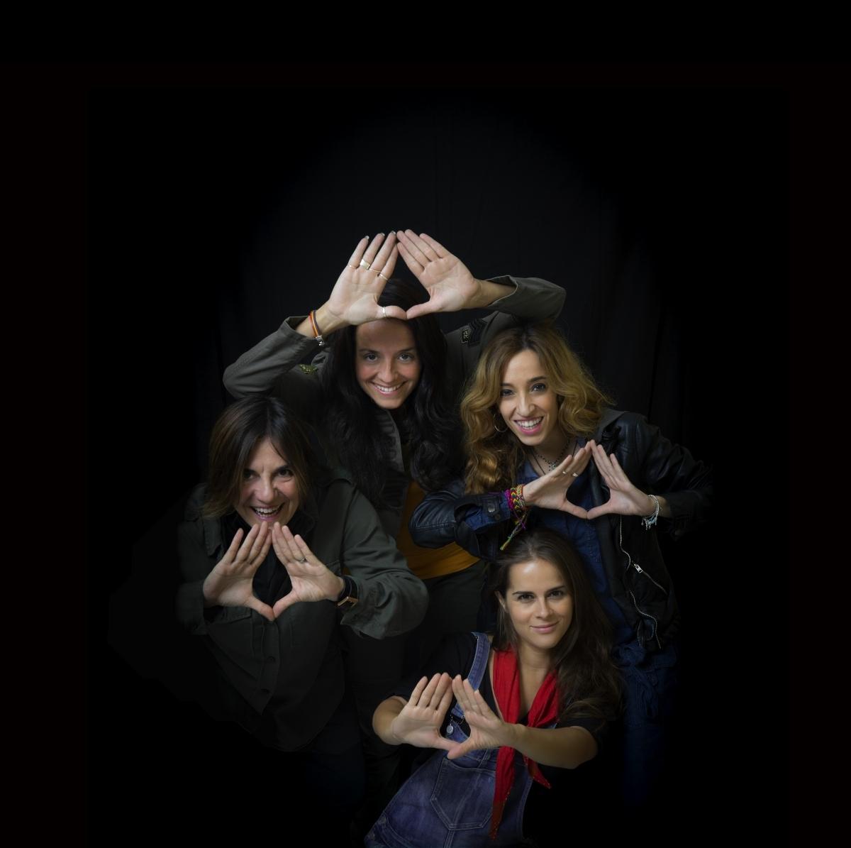 Les quatre cantautores, en la imatge promocional FOTO: J. M. Morales