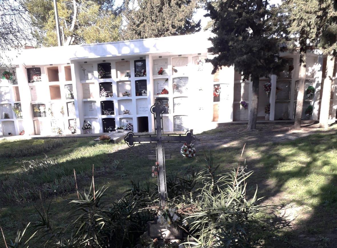 El cementiri de Sant Martí Sesgueioles (Foto DIBA)