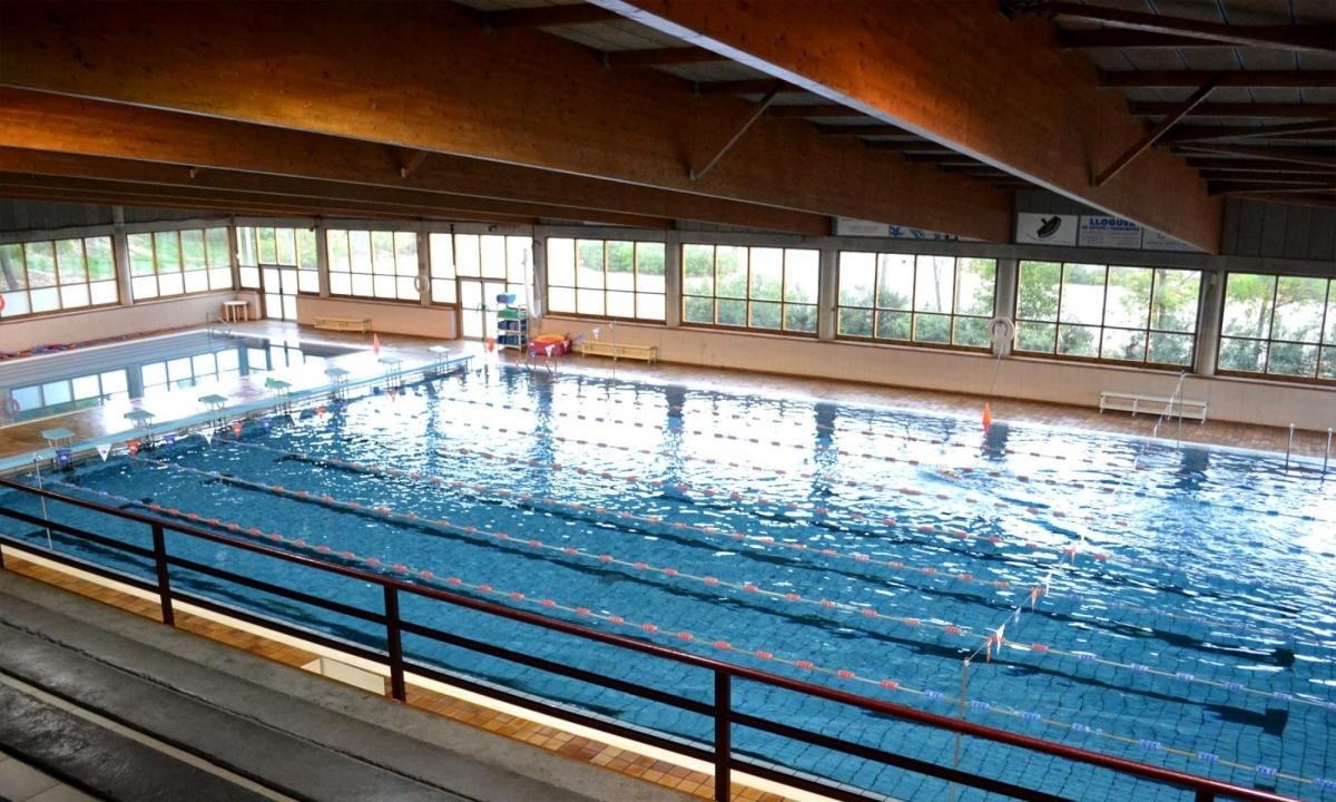 La piscina de Les Comes, un dels equipaments on competeix el CNI