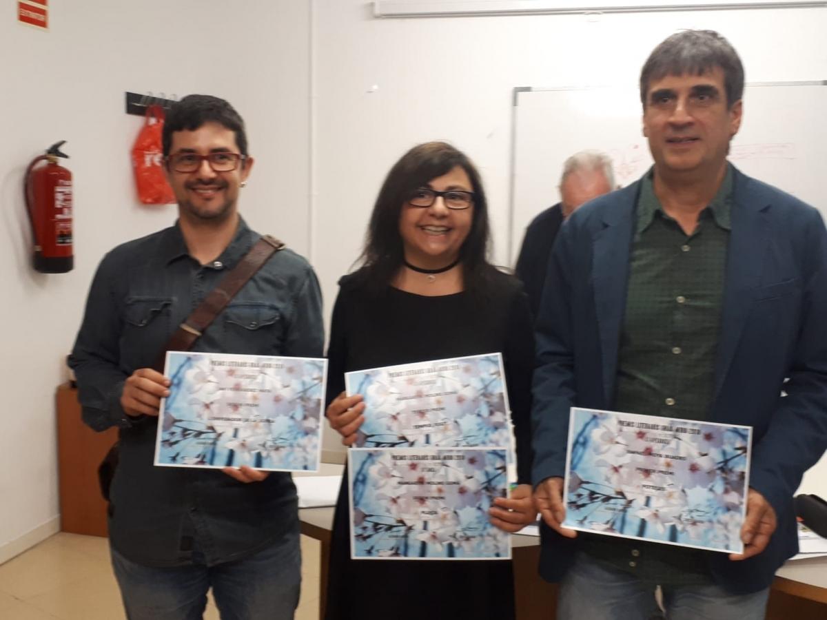 Fernández, Molins i Moya, premiats a Barcelona