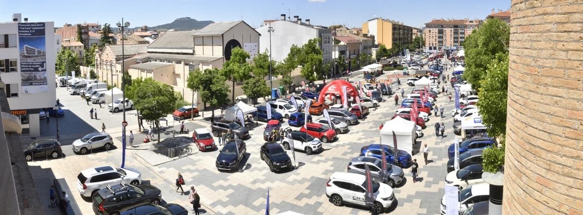 Cal Font, l'espai d'emplaçament dels vehicles
