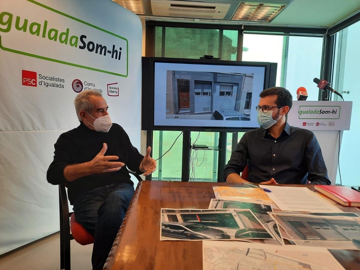 Salvador Pelfort i Jordi Cuadras, aquest dilluns