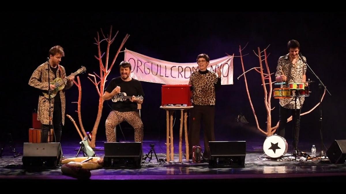 El grup, en una actuació l'any passat
