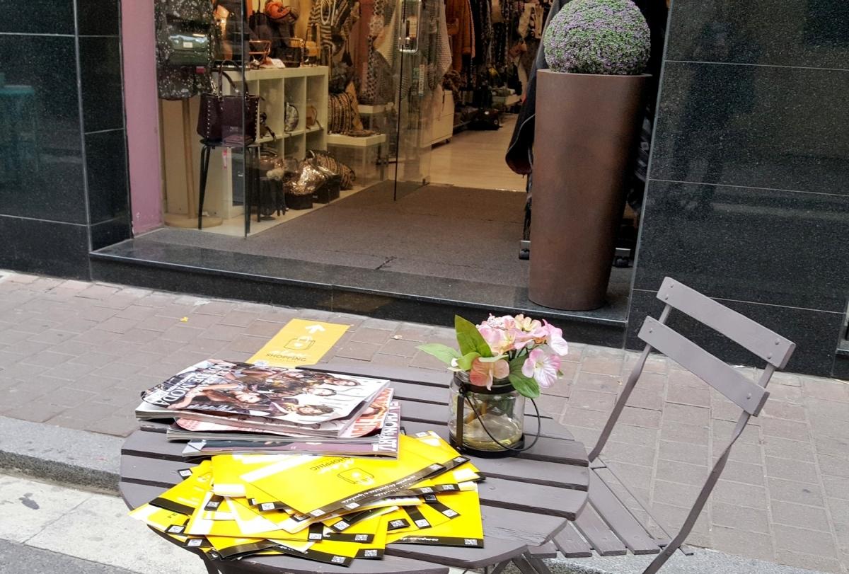 Botigues del centre de la ciutat, en una edició anterior de l'ISS