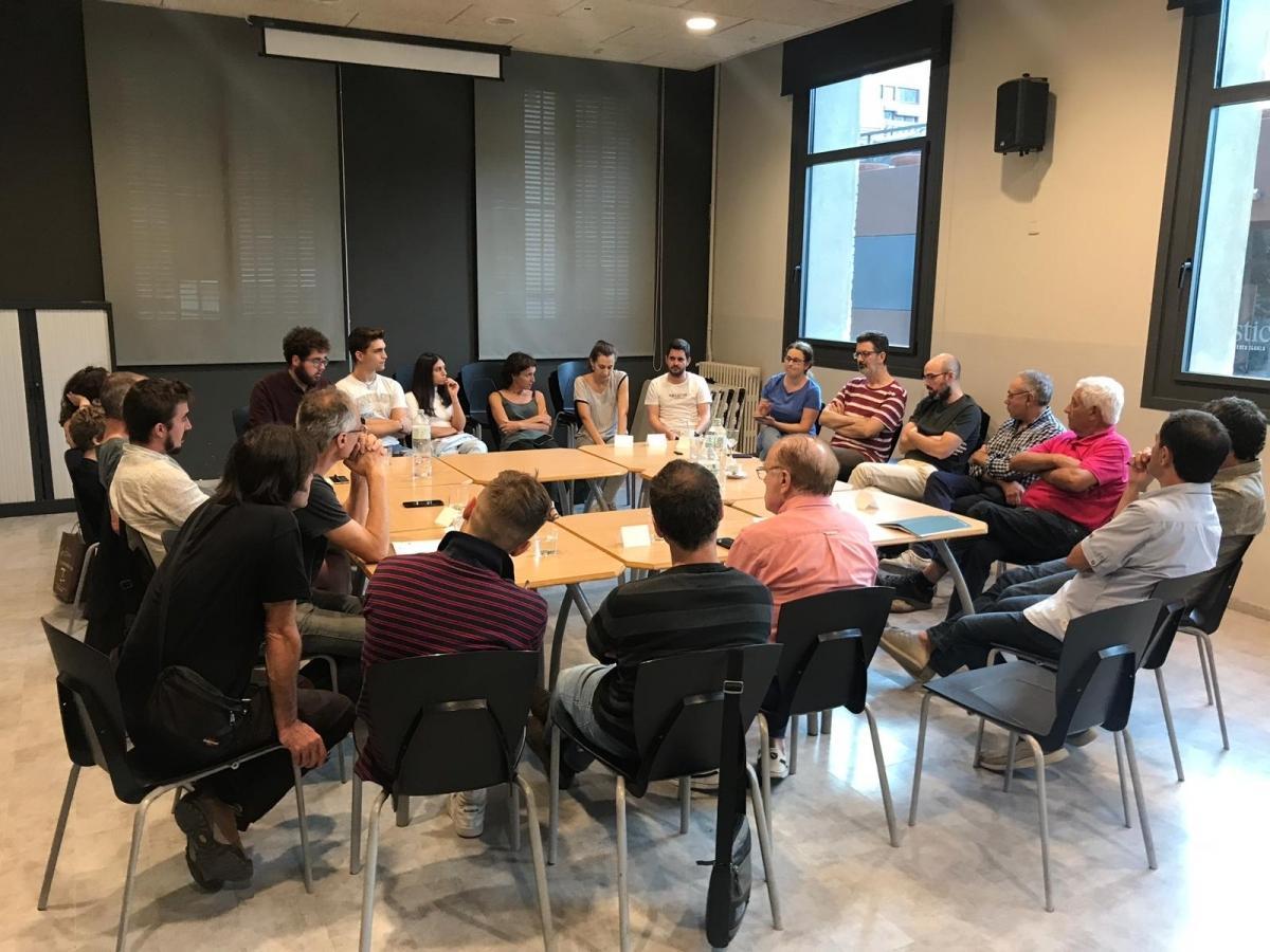 La reunió, el 28 de setembre