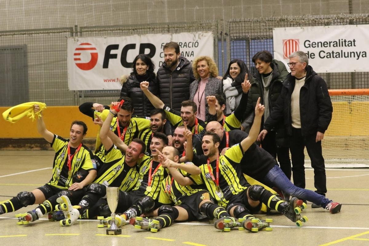 La celebració dels campions FOTO: Joan Garcia Galofré
