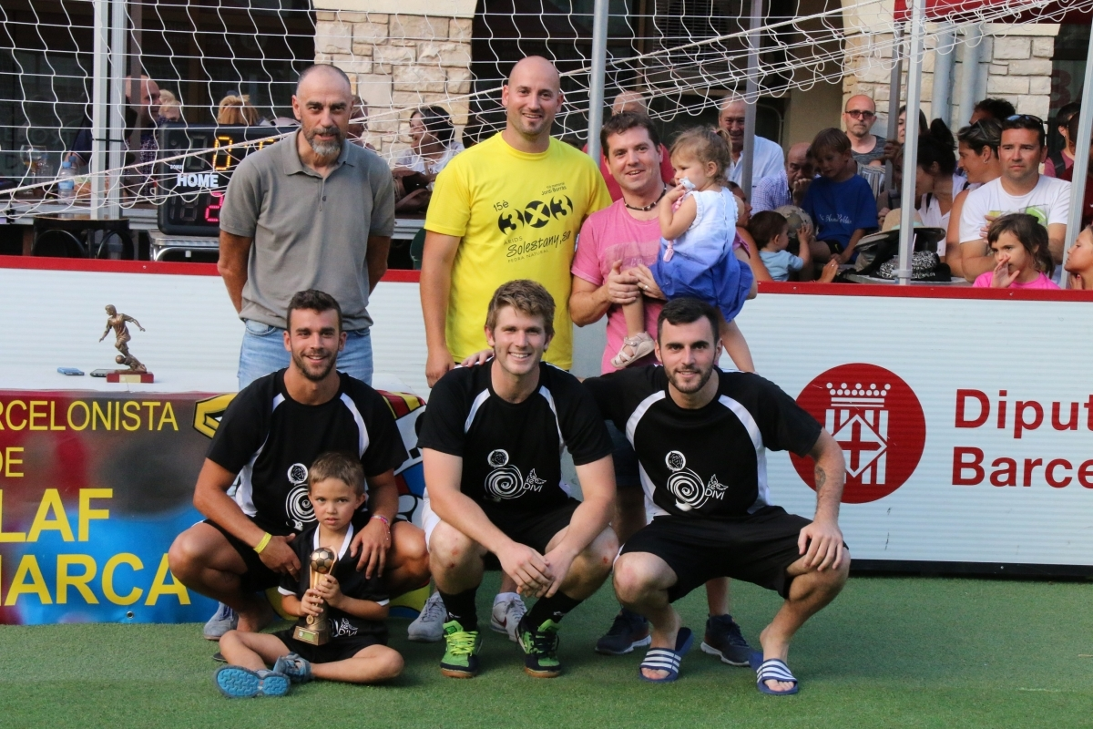 L'equip  KeDiví-Funcat-Monkeys, vencedor sènior