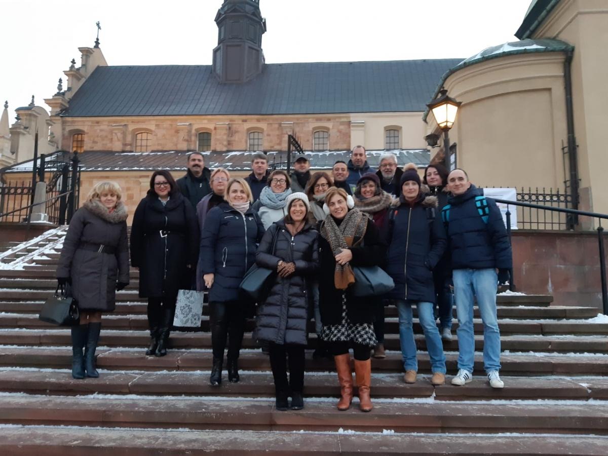 Els professors de diversos centres, reunits a Kielce