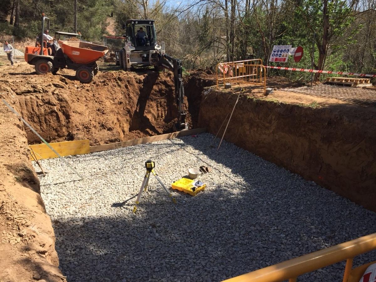 Les obres a la zona ja han començat