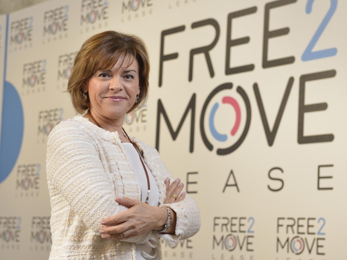 María Jesús López, General Manager Free2Move Lease España.