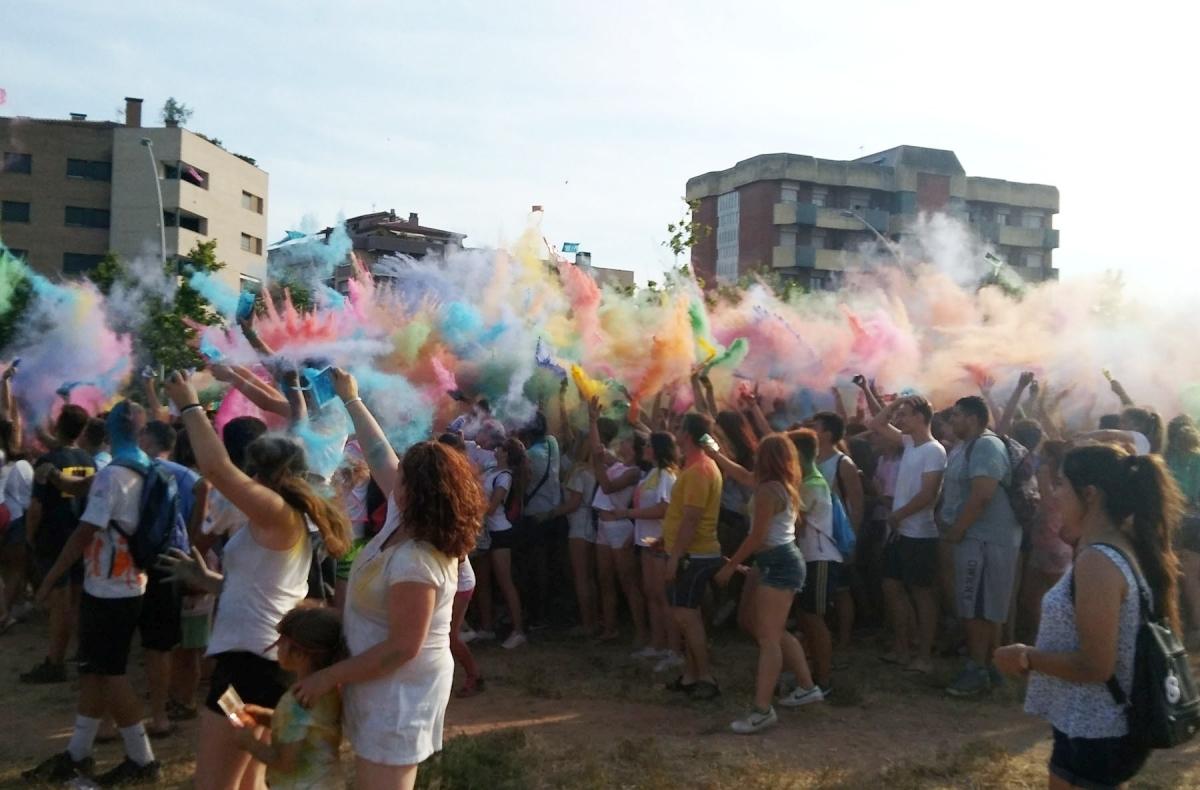 La Festa Holi, una de les activitats de les primeres setmanes