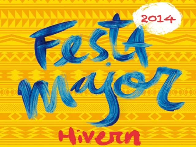 Fragment del pòster de la Festa Major d'Hivern de Montbui