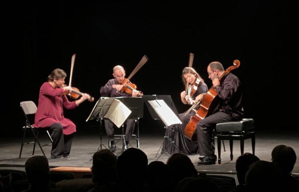 El Cosmos Quartet, en el concert a la Lliga