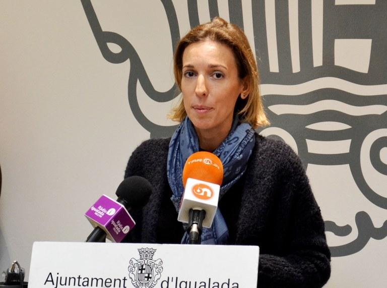 Chacón, en una compareixença a l'Ajuntament