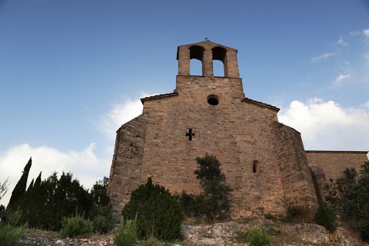 Aspecte de la fortificació, restaurada en successives campanyes